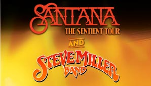 Santana Steve Miller poster