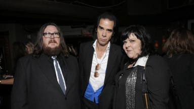Iain and Jane with Nick Cave