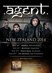 Agent - NZ Tour 2014 WEB v3