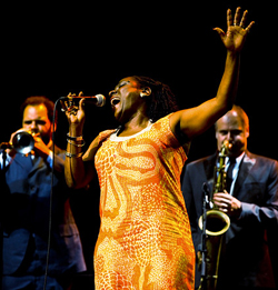 Sharon Jones & The Dap Kings.